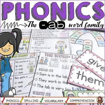 CVC: SHORT A: THE -AB WORD FAMILY