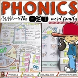 CVC: SHORT  VOWEL A: THE -AT WORD FAMILY