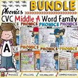 CVC SHORT VOWEL A WORD FAMILY BUNDLE