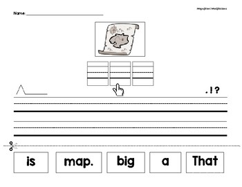 CVC & SIGHT WORD SENTENCE SCRAMBLES