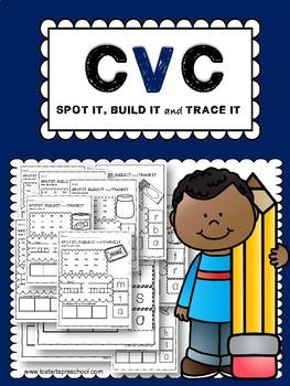 CVC SPOT IT, BUILD IT and TRACE IT