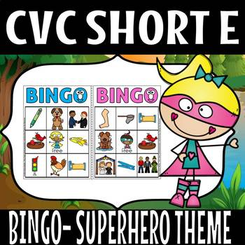 CVC SUPER HERO THEME SHORT E