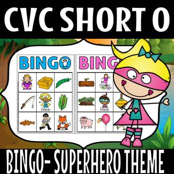 CVC SUPER HERO THEME SHORT O