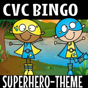 CVC SUPER HERO THEME SHORT O