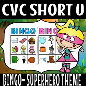 CVC SUPER HERO THEME SHORT U