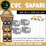 CVC Word Game - CVC Safari