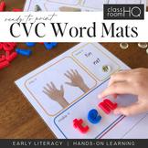 CVC Say It Read It Make It Write It Word Mats