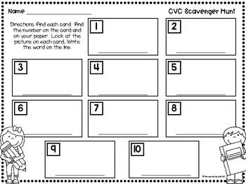 CVC Scavenger Hunt