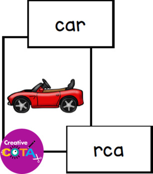 CVC Scoot/Write the Room and Scrambled Words