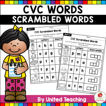 CVC Scrambled Words
