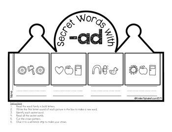 CVC Secret Words Crowns