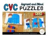 CVC Segment & Blend Puzzles
