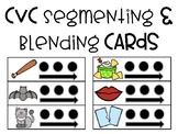 CVC Segmenting & Blending Cards