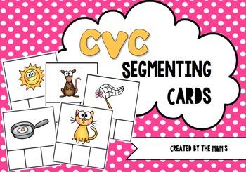 CVC Segmenting Cards