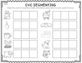 CVC Segmenting {Freebie!}