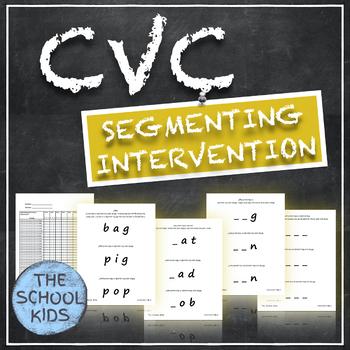 CVC Segmenting Intervention Assessment