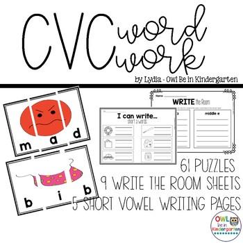 CVC Segmenting Puzzles
