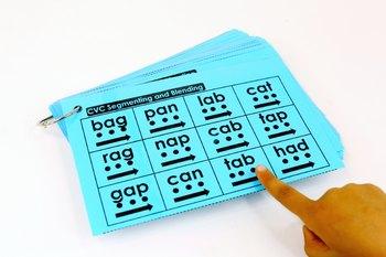 CVC Segmenting and Blending Cards