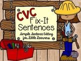 CVC Sentence Editing