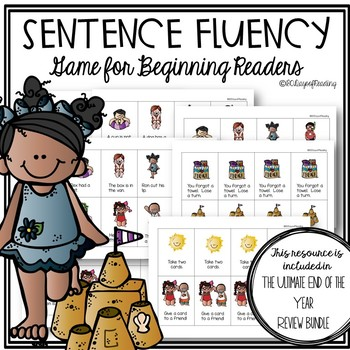 End of the Year Review Game for CVC Fluency