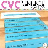 CVC Sentence Practice