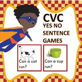 CVC Sentence Reading Games