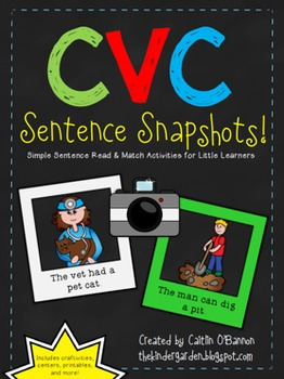 CVC Sentence Snapshots