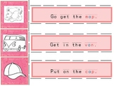 CVC Sentence Strips and Stories for Reading with Phonogram