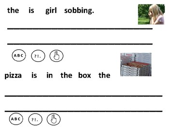 CVC Sentence Writing