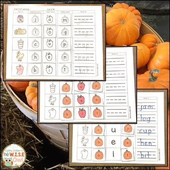 CVC Set:  Fall