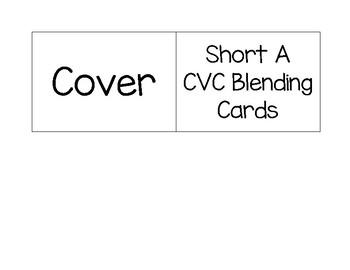 CVC Short A Blending Cards