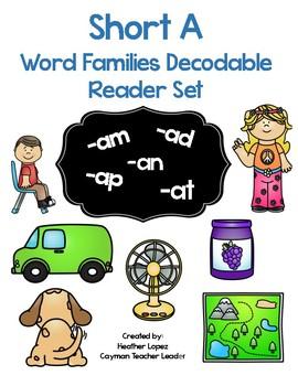 CVC Short A Decodable Reader Set