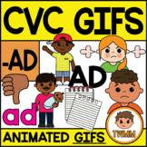 CVC Short A GIFs l -AD Word Family  l TWMM Clip Art