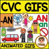 CVC Short A GIFs l -AN Word Family  l TWMM Clip Art