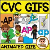 CVC Short A GIFs l -AP Word Family  l TWMM Clip Art