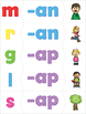 CVC Short A Phonics Puzzle Pack