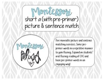 CVC (Short A) Picture & Sentence Matching
