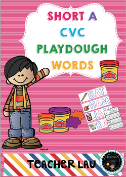 CVC Short A Playdough
