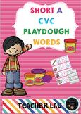 CVC Short A Playdough