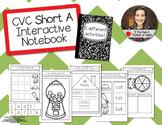 CVC Short A Word Families - Interactive Notebook