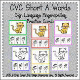 CVC Short A Words (Sign Language)