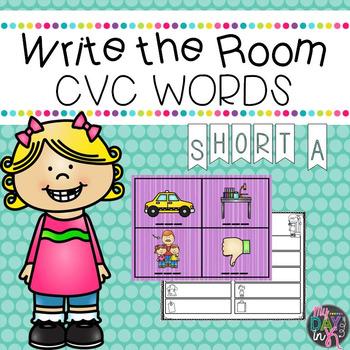 CVC Short A Write the Room