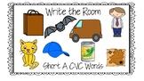 CVC Short A Write the Room Activity