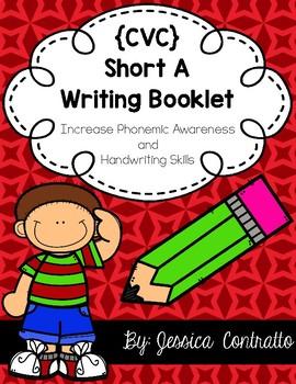 CVC Short A Writing Book