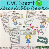 CVC Short E Decodable Books