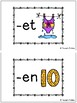 CVC Short E Word Family Activity and Blending Cards