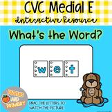 Digital Learning CVC Short E Write