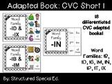 CVC Short I Adapted Books