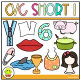 CVC Short I Clip Art