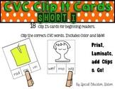 CVC Short I Clip It Cards